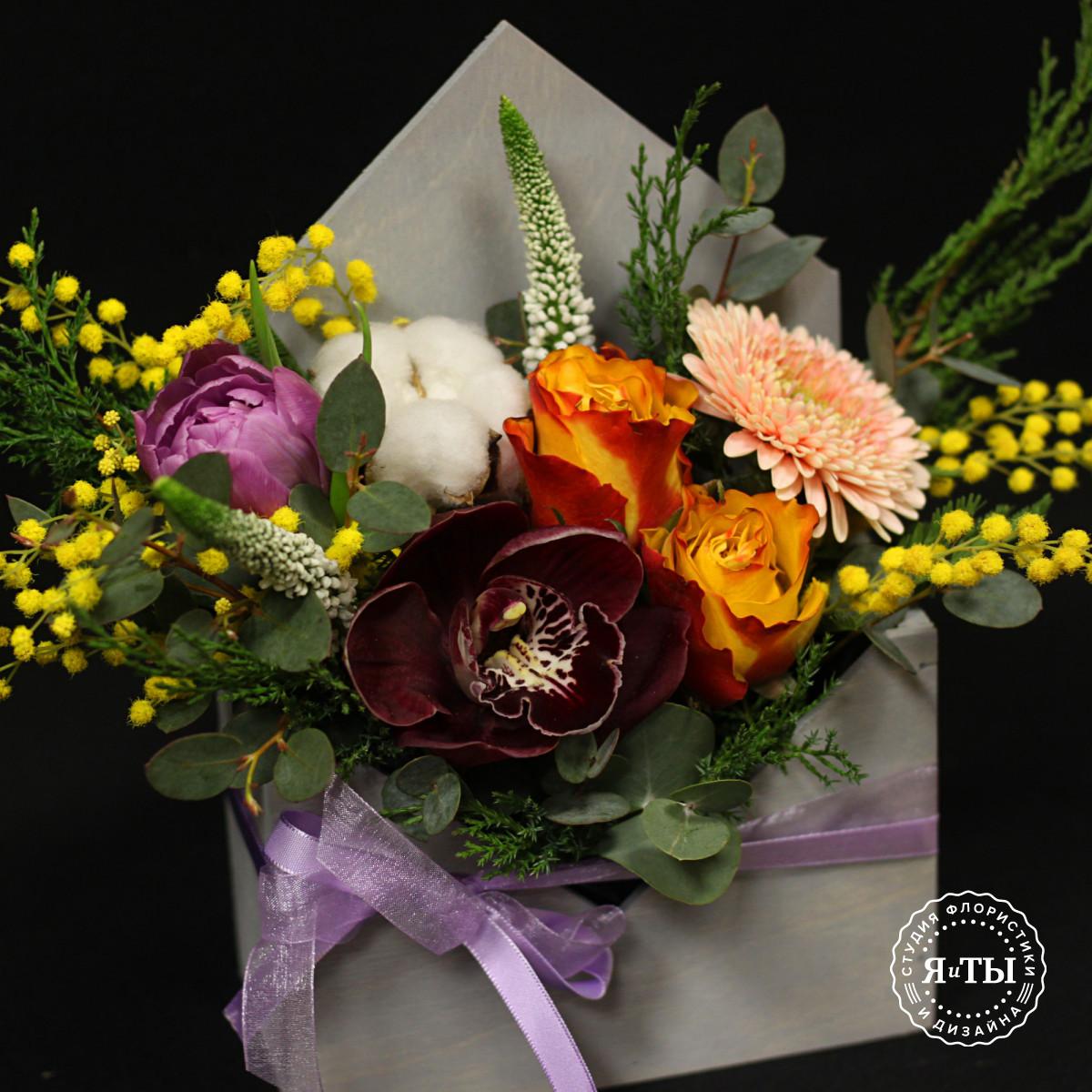 Весеннее цветочное послание